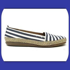 NEW AEROSOLES Fabric Slip On Comfort Shoes